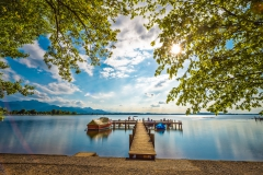 Summer at Lake Chiemsee